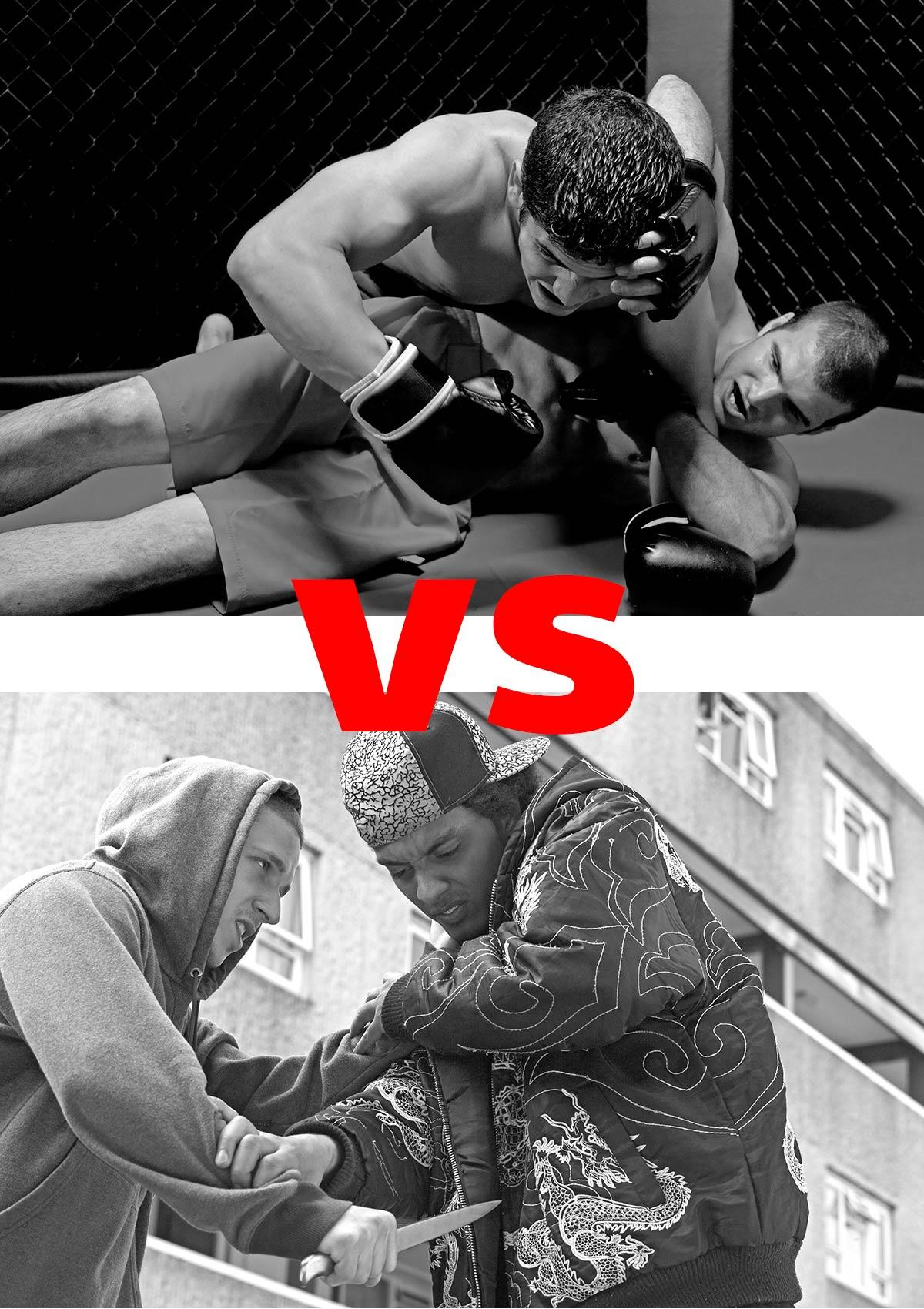 Πολεμικές τέχνες vs Combatives