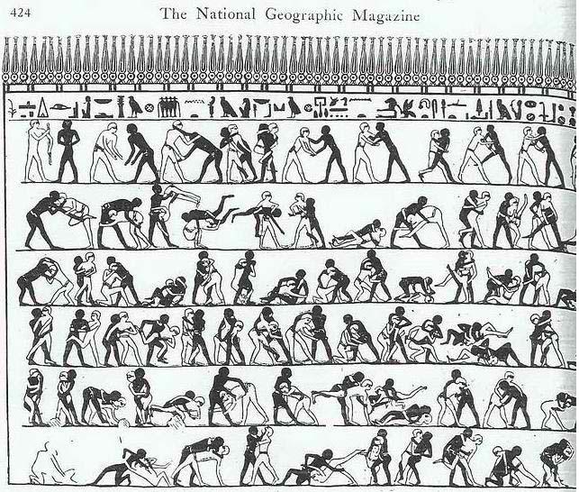 Μορφές πάλης στην αρχαιότητα