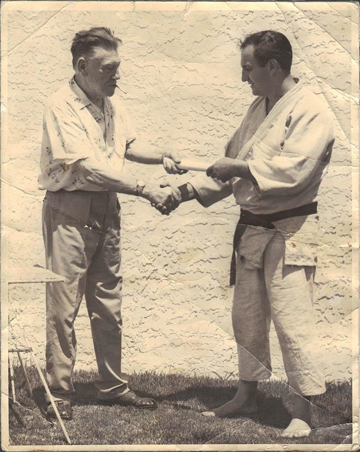 Αριστερά ο Jack Robinson, δεξιά ο Mickey Davidow