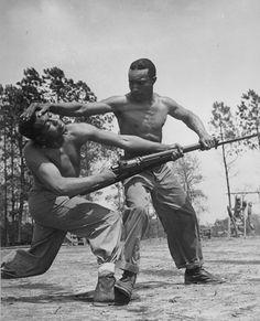 World war II. Taking the rifle