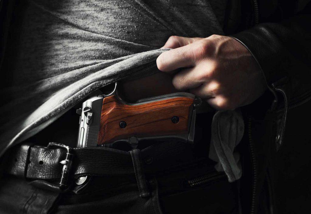 Όπλα κοντινής εμβέλειας, πιστόλι