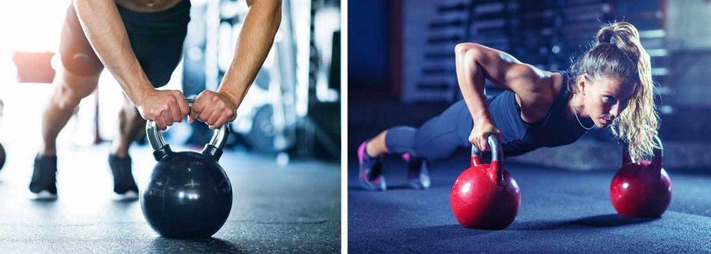 Kettlebell Fitness για άνδρες και γυναίκες